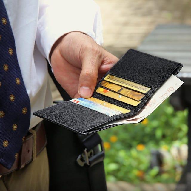 Etui für Kreditkarten und Geldscheine für Männer